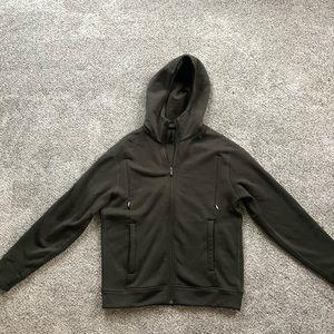 Never worn men's L Lululemon zip hoodie